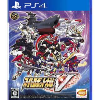 Want to buy PS4 Super robot war V