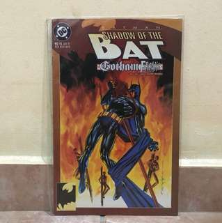 DC Comic Batman Shadow of the Bat Gotham Freaks