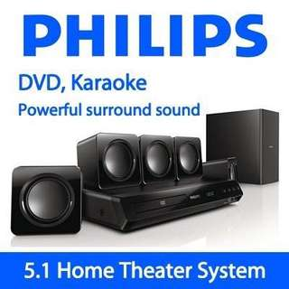 BNIB - Philips HTD3510 Home Theater System