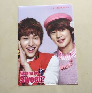 SHINee OFFICIAL ETUDE HOUSE merchandise