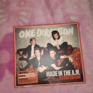 One Direction Made in the A.M. Deluxe edition album