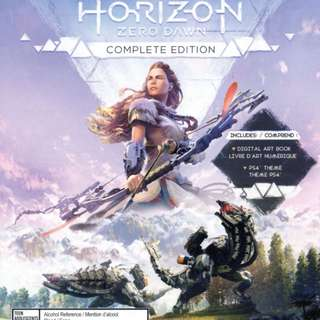 Want to buy PS4 Horizon ZeroDawn complete edition
