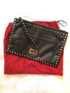 Valentino clutch - black