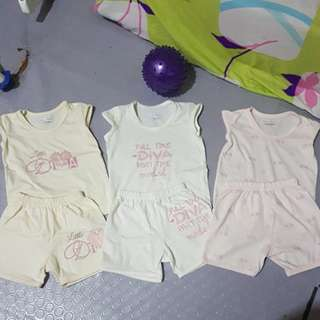 Take 3pair baby clothes