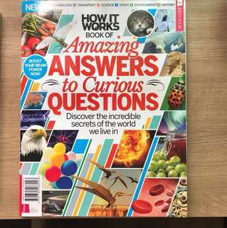 Amazing answer to Curious question bookazine future
