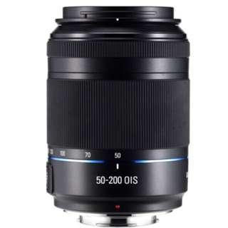 Samsung NX lense 50-200mm f4-5.6 ED OIS  -Black