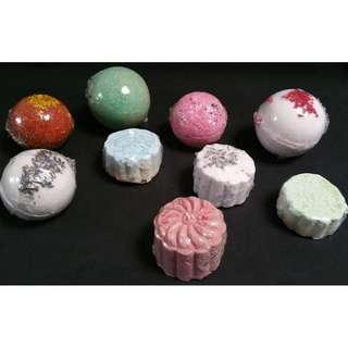 Assorted Bath Bombs