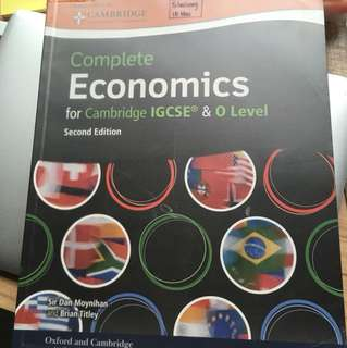 Complete Economics for Cambridge IGCSE/O-Levels