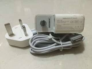 Macbook OEM Megsafe 1/2 60W @$35.00Nett