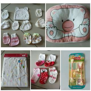 Preloved Newborn Baby Items