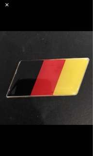German flag emblem (big)