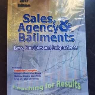 ATTY DOMINGO Law on Sales, Agency & Bailments