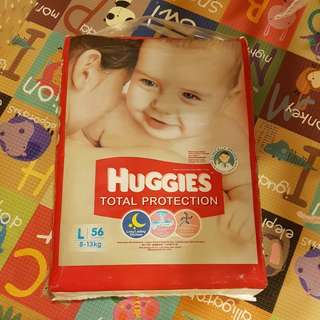 Huggies Total Protection Diapers L