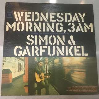 Simon & Garfunkel ‎– Wednesday Morning, 3 A.M., Vinyl LP, Pitman Pressing, Columbia ‎– CS 9049, 1965, USA