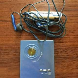 Aiwa MD portable player AM-HX70 walkman
