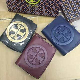 美國專櫃Tory Burch Charlie Mini Bi-Fold Wallet