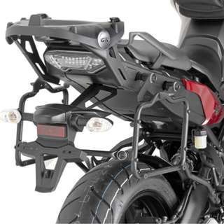 Givi PLR2122 Specific Pannier Holder for Monokey Side Cases for Yamaha MT-09 Tracer
