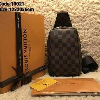 Lv Chest Bag   Code:1002 Size:12x20x6cm