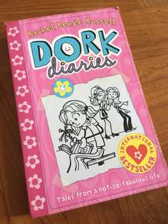 Dork Diaries Books 1, 2, 3 and 4