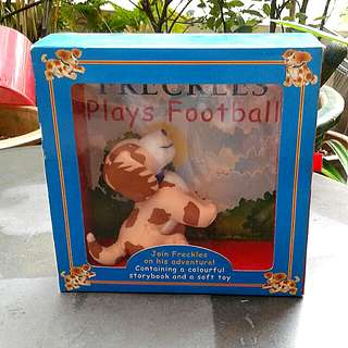 Story book and soft toys