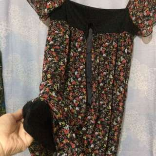 REPRICED! Maternity Blouse Floral