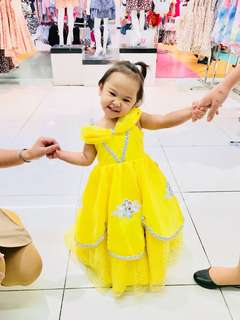 Pre-Loved Princess Belle Ball Gown (2T)