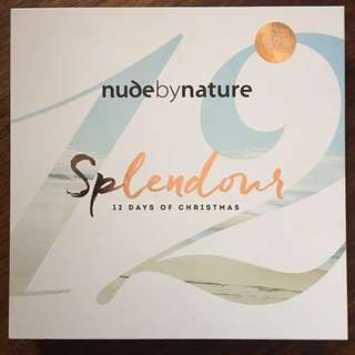 Nude by Nature Splendour Christmas edition