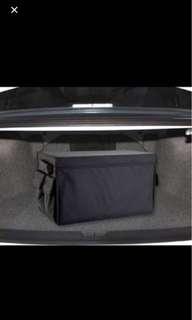 Car boot storage organizer for BMW