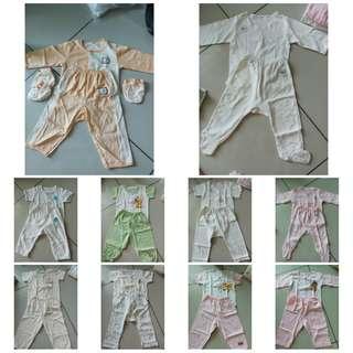 Preloved Bundle Baby Pyjamas