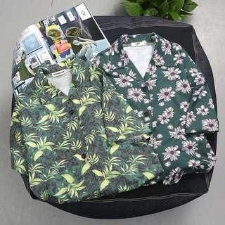 94. Floral shirt