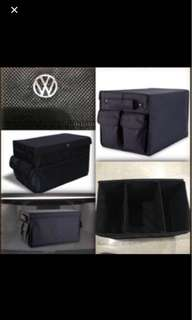 Car boot storage organizer for Volkswagen