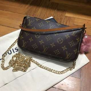 Replacement chain strap for Louis Vuitton etc