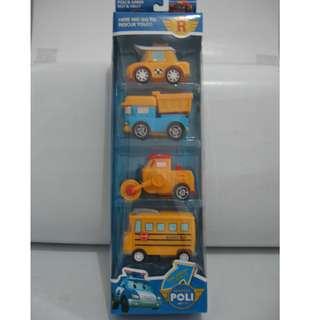 Mainan Robocar Poli Set 4pcs / Robocar Poli Set 4pc P3