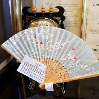 Butterfly Silk fan from Japan