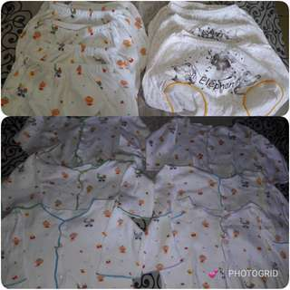Baju pasangan new born 0-3bln take all 120ribu net