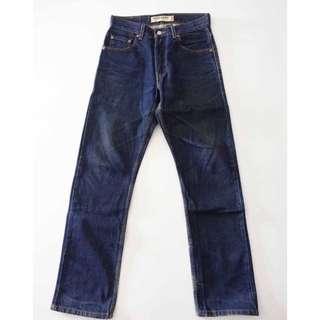 🚚 LEVI'S 505 深藍 經典小直筒牛仔褲 29腰