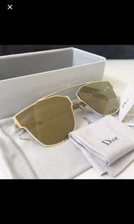 Dior Sunglasses (Yellow) - Authentic