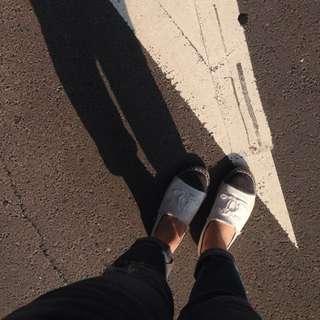 Chanel 37 白色 草鞋