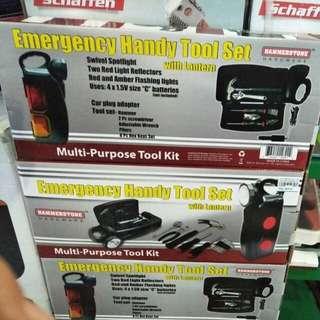 Emergency handy tool set