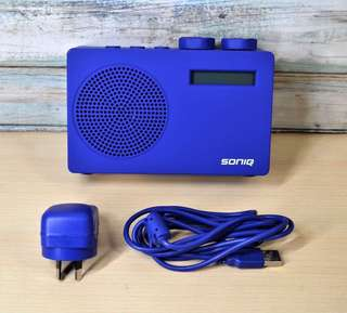 Australian Soniq Portable DM+Radio Battery Operated