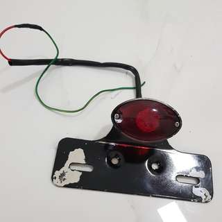 TAIL LIGHT With BRACKET Taken Off From 2013 Harley Davidson Sportster Iron 883