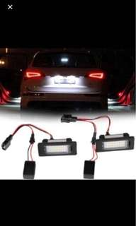 LED License Plate Lights for AUDI