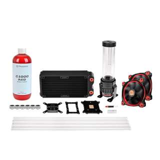 Thermaltake RL 240 Hard Tube Kit - RED - CL-W128-CA12RE-A