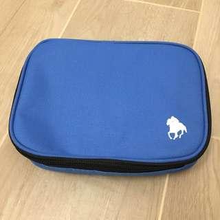 全新 旅行套裝 吹氣頸枕 眼罩 行李帶 行李牌 收納袋  travel set