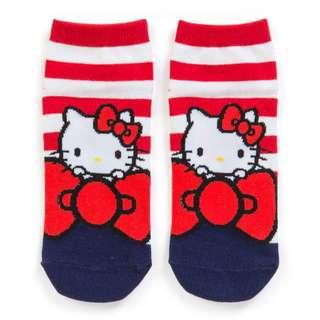 Japan Sanrio Hello Kitty Sneaker Socks (Ribbon)