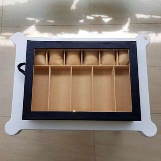 Sunglass and watch box