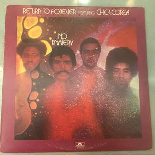 Return To Forever Featuring Chick Corea ‎– No Mystery, Vinyl LP, Polydor ‎– PD 6512, USA, 1975