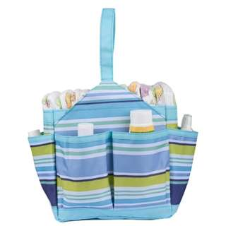Autumnz Portable Diaper Caddy (Blue)