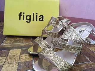 Figlia Gold High Heel Shoes #hello2018