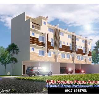 5.4M 2 Bedrooms Townhouse in Cubao Quezon City Near Araneta Center